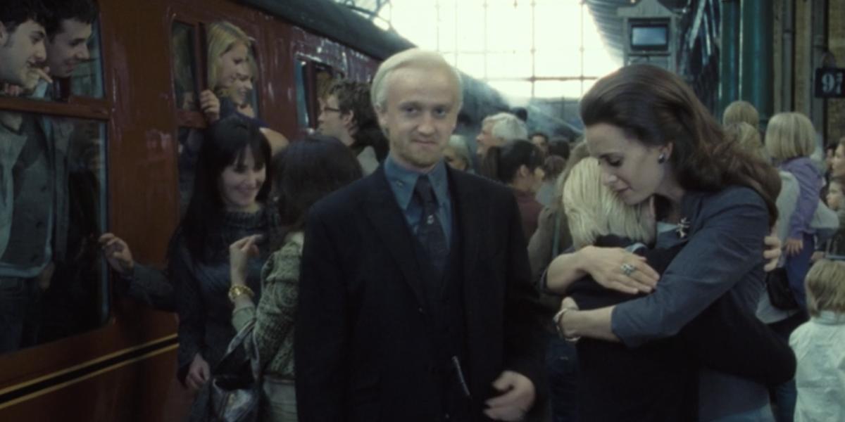 Draco's final scene in Harry Potter