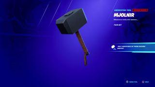 Fortnite Mjolnir Thor's Hammer