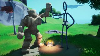 Fortnite Friendship monument location emote as Groot