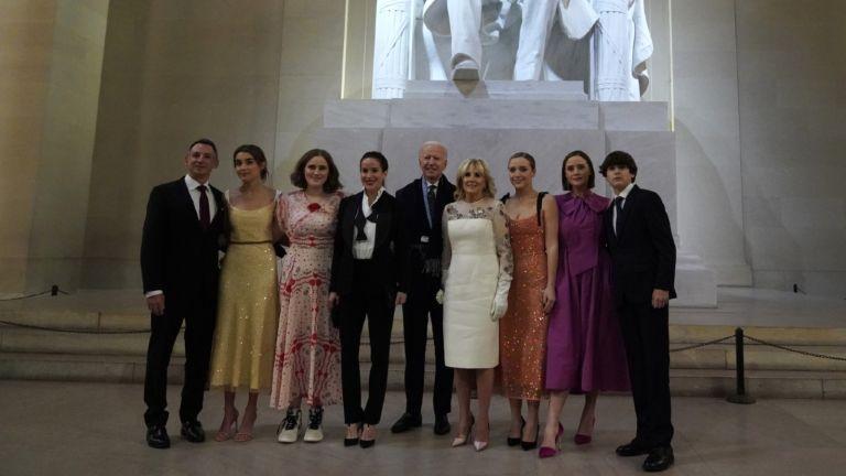 Joe Biden and Grandchildren