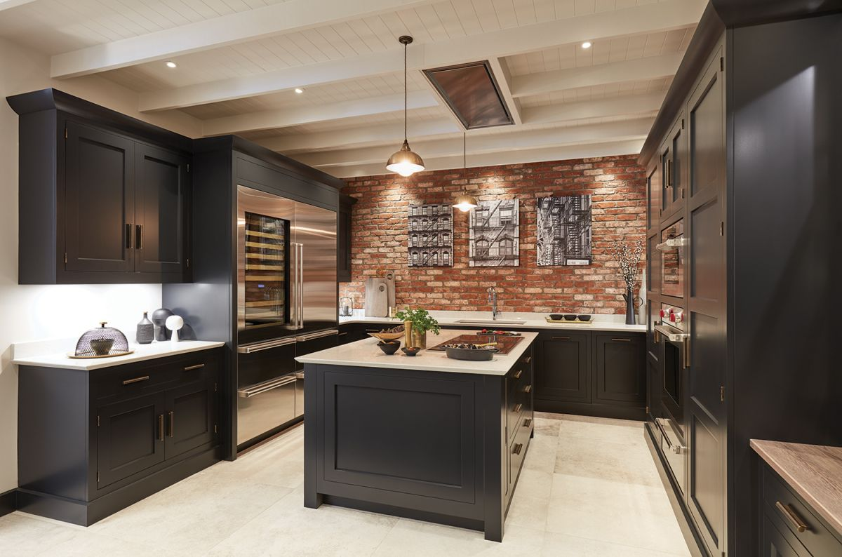 Black Kitchen Ideas: 13 Dark And Dramatic Looks To Copy | Real Homes