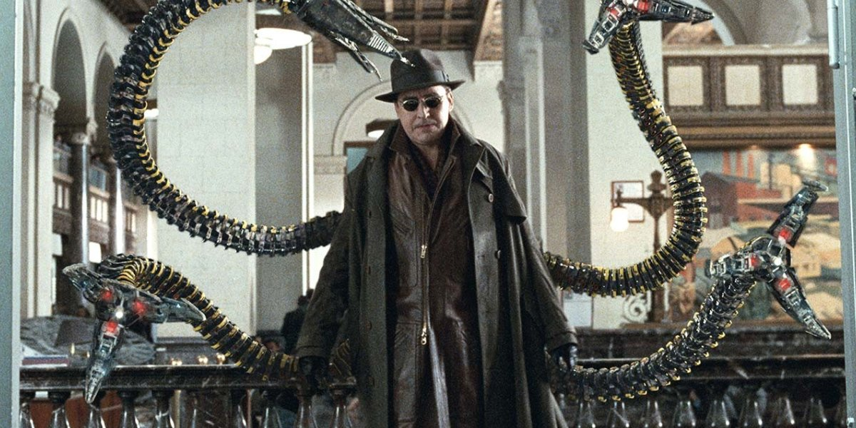 Alfred Molina as Doctor Ocotpus in Spider-Man 2