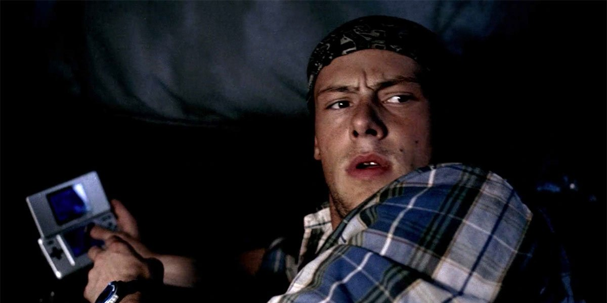 Cory Monteith on Supernatural
