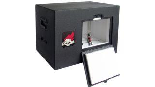 box of doom unleashes more affordable basic isolation guitar amp cabinet musicradar. Black Bedroom Furniture Sets. Home Design Ideas