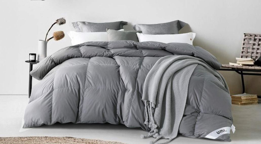 All Seasons Feels Like Down Duvet 13.5 Tog Feather Fibre Super King by Fogarty