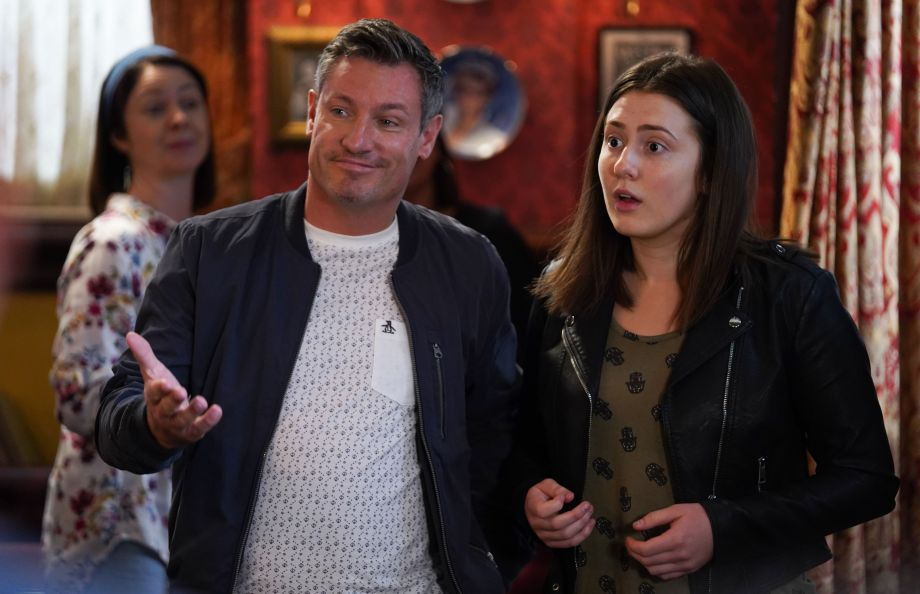 Louise throws a party for Bex in Eastenders