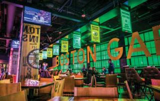 TD Garden VIP Lounge Gets AV Enhancement