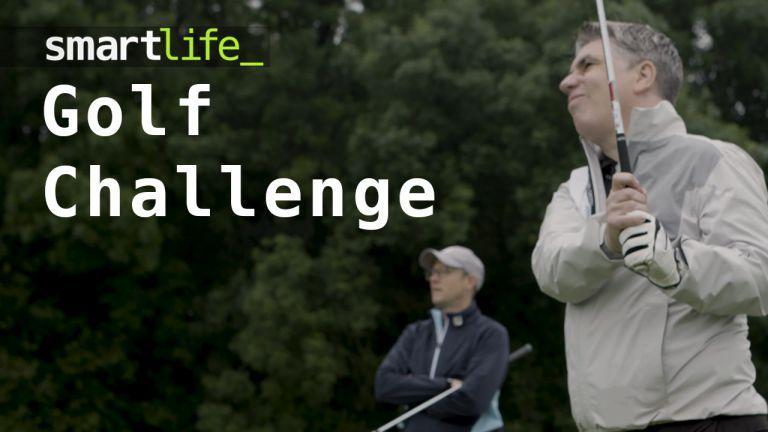 Smart Life golf challenge (in the rain)