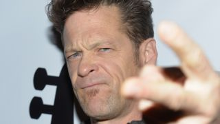 A picture of former Metallica bass player Jason Newsted