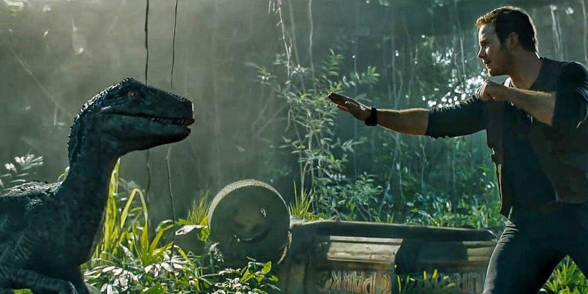 Owen Grady and Raptor in Jurassic World