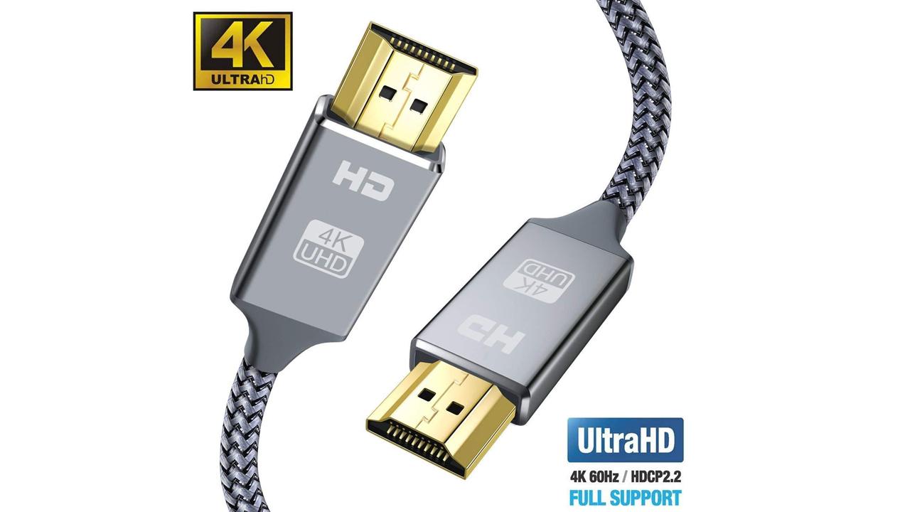 1,5m HDMI Kabel 2160p Ethernet V2.0 gold 4K ULTRA HD für hdtv tablet lcd TV