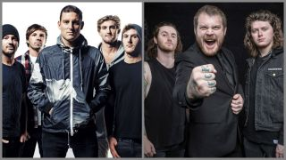 A montage of parkway drive and asking alexandria