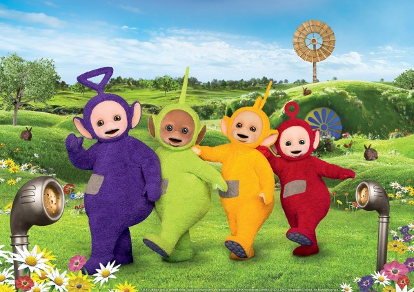 The new Teletubbies
