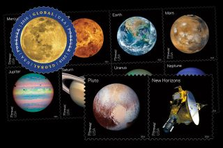 2016 Space Postage Stamps