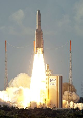 European Rocket Launches 2 African Satellites