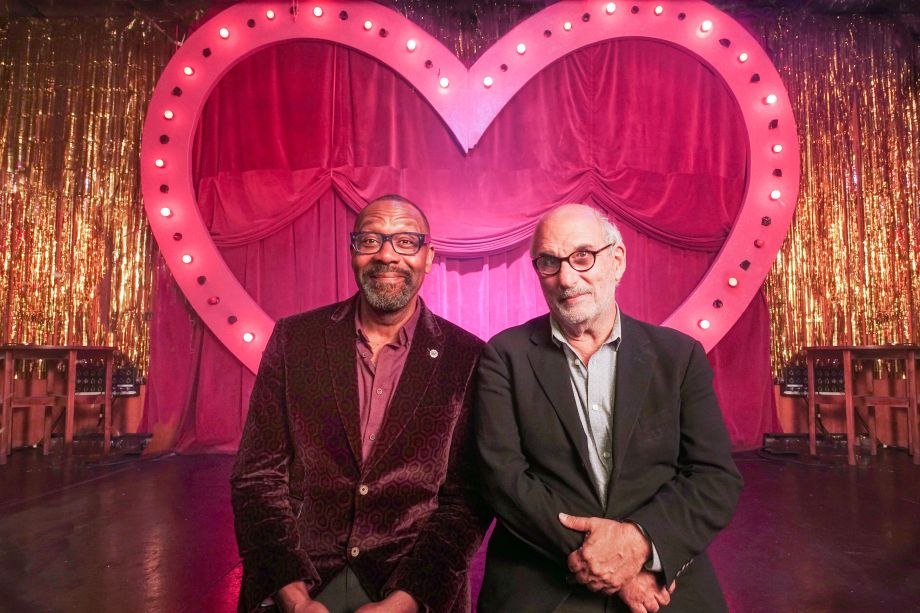 Lenny Henry and Alan Yentob Imagine: Lenny Henry: Young, Gifted and Black