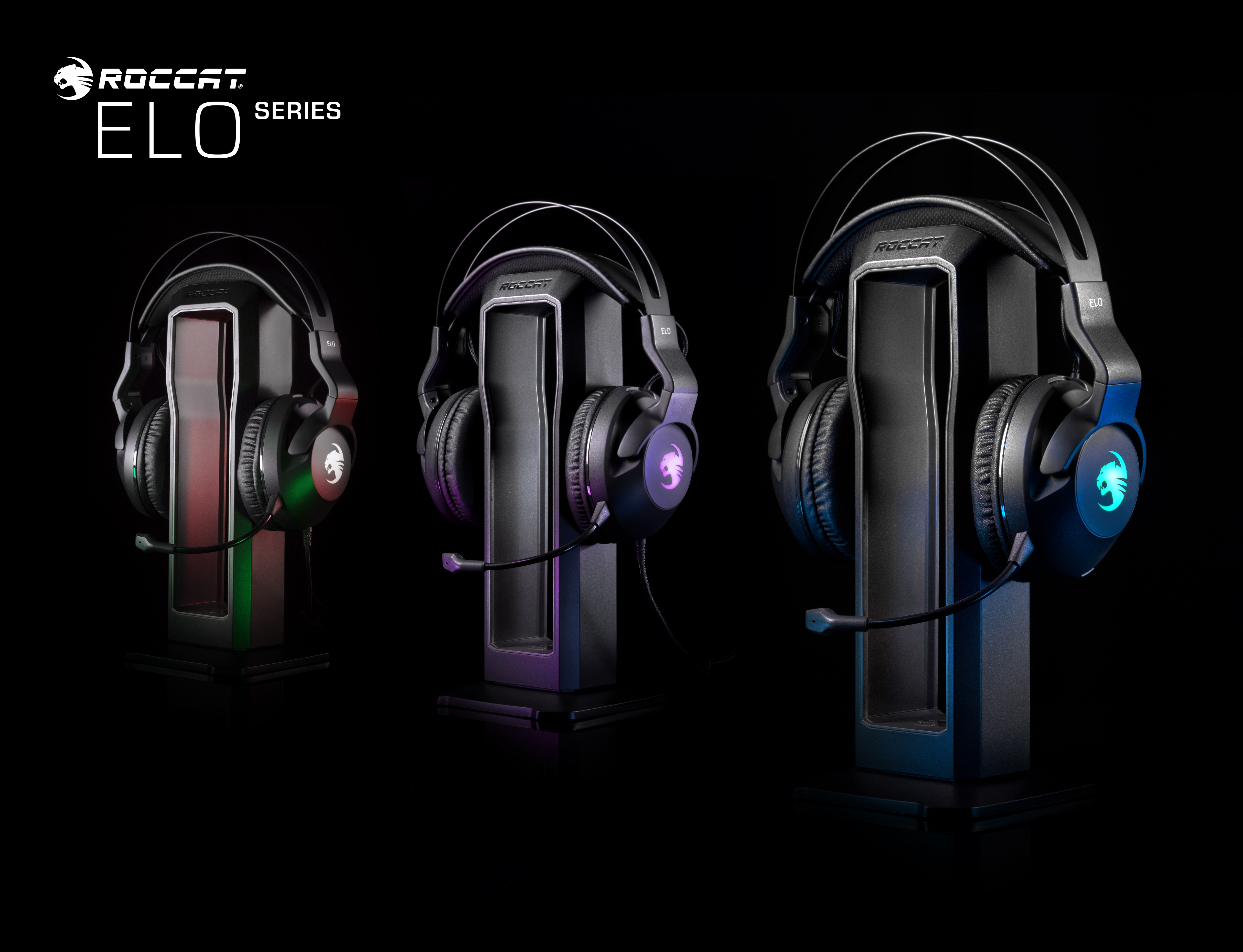 ROCCAT's ELO gaming headsets are an acoustic treat