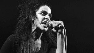 Diamanda Galas live on stage in 1988