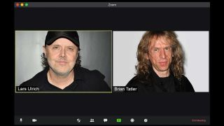 Lars Ulrich and Brian Tatler