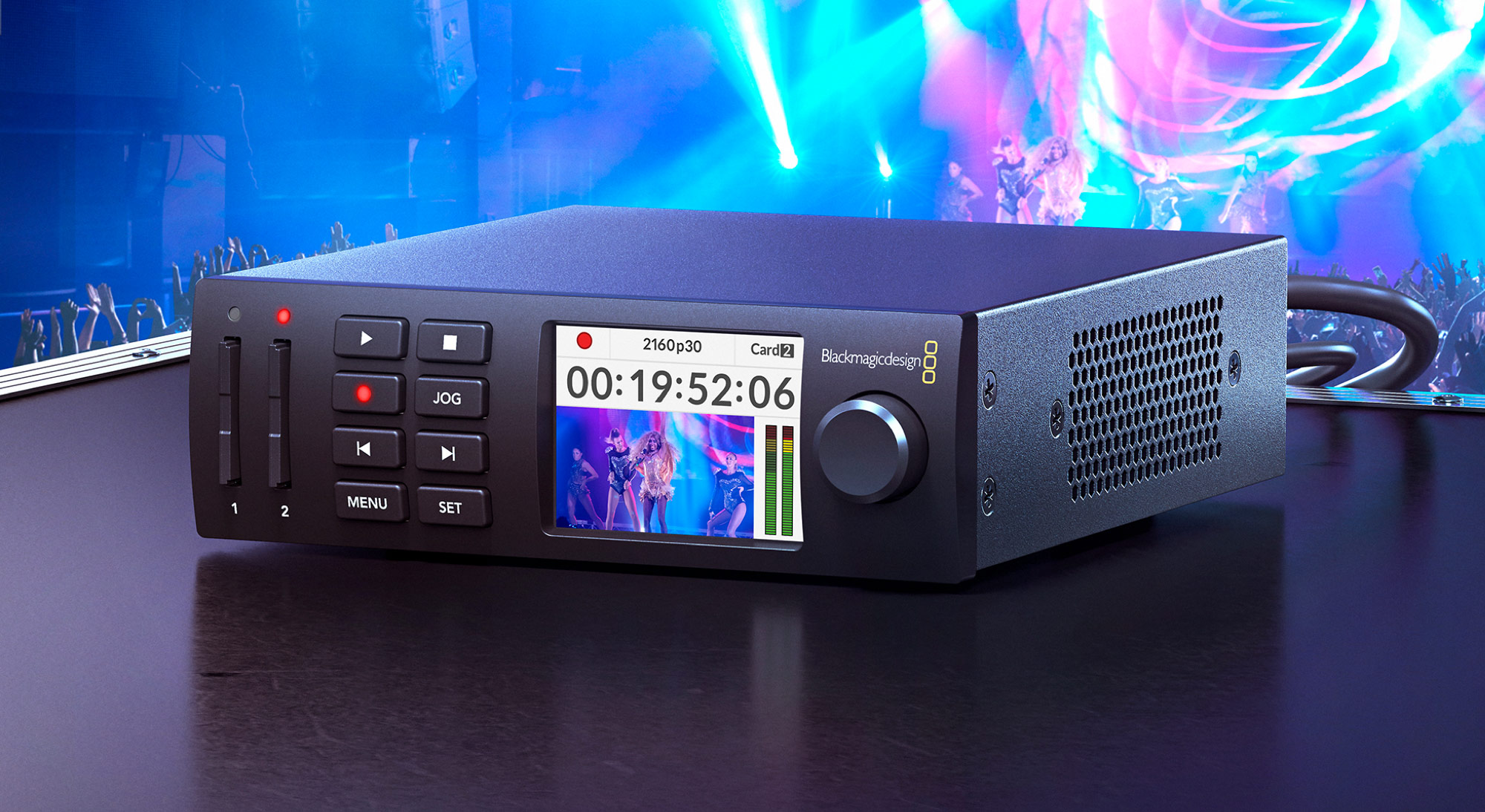 Blackmagic Design Announces Hyperdeck Studio Mini V7 1 Broadcasting Cable