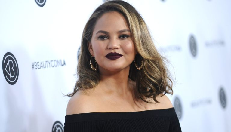 Chrissy Teigen attends the 5th annual Beautycon festival at Los Angeles Convention Center on August 13, 2017 in Los Angeles, California.