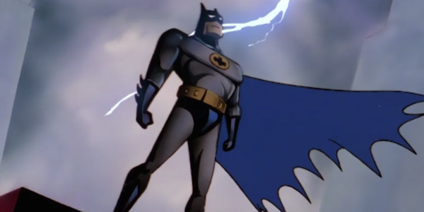 Batman: The Animated Series batman credits shot