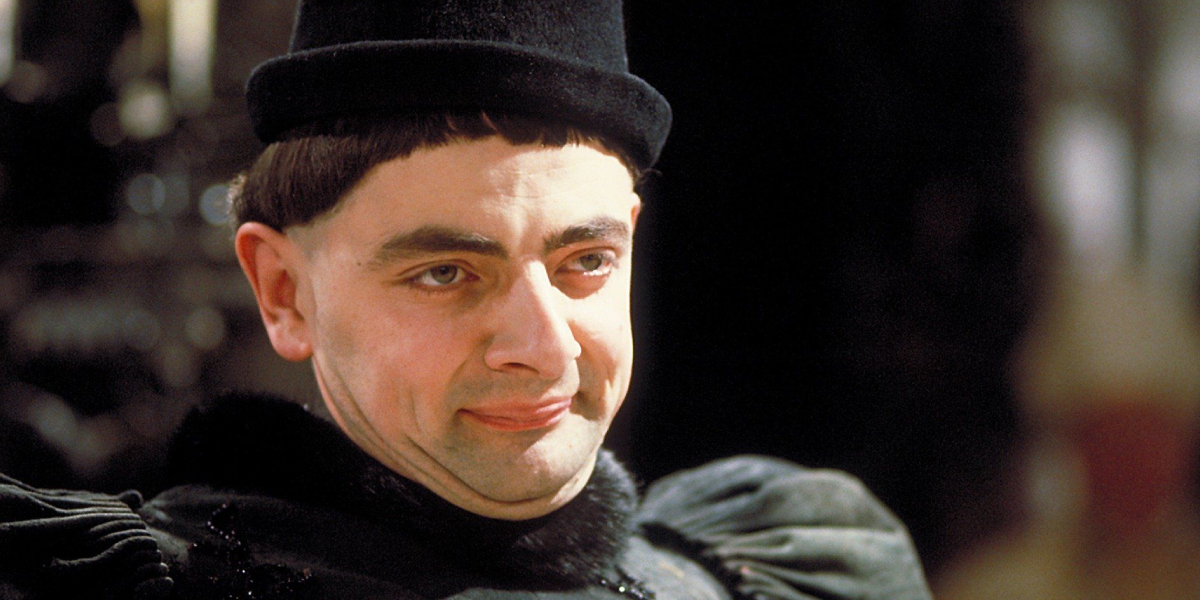 Rowan Atkinson in Black Adder