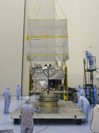 Maven Mars Probe at Kennedy Space Center