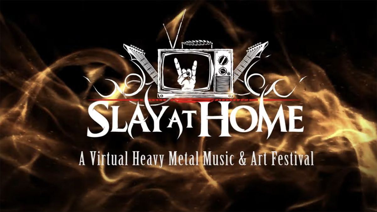 Online Slay At Home metal and art festival set up to raise cash for charity