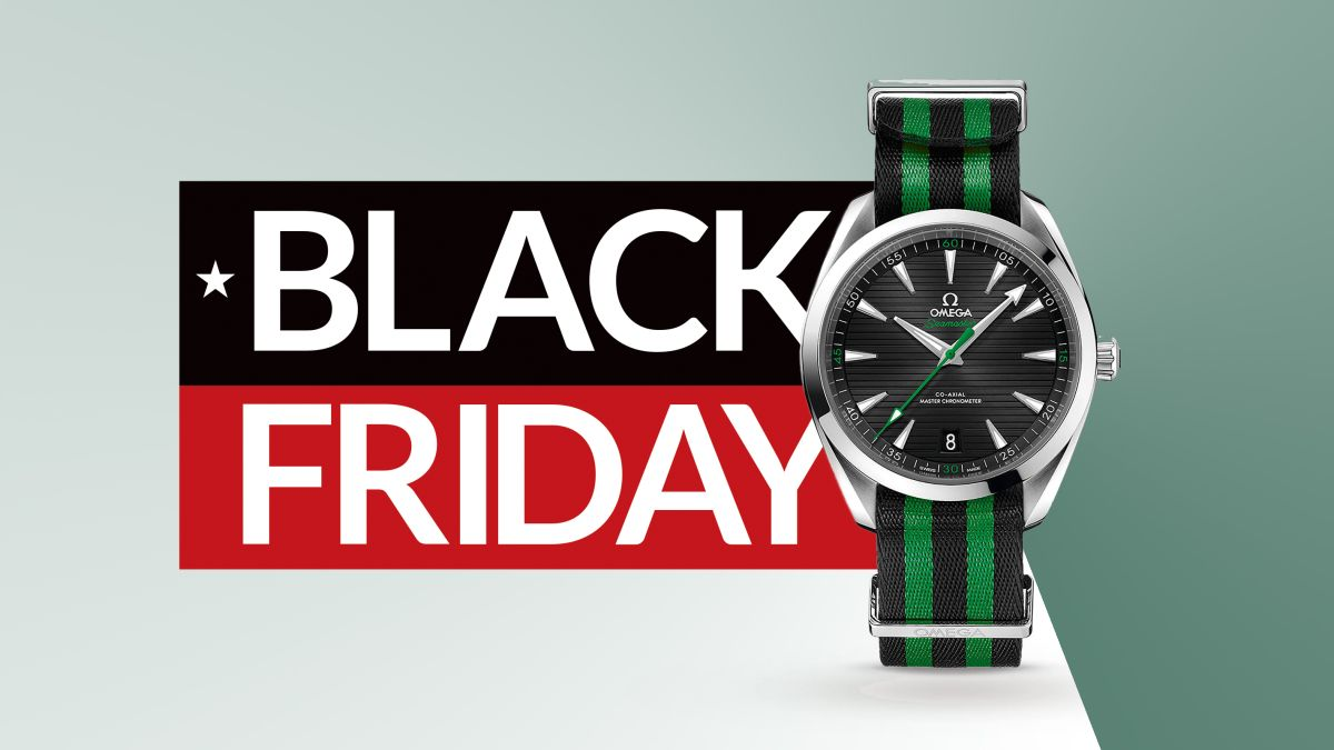 Save up to £1,000 on Omega Seamasters in the Goldsmiths Black Friday sale right now!