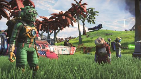 Here's a look at No Man's Sky's new multiplayer mode in action