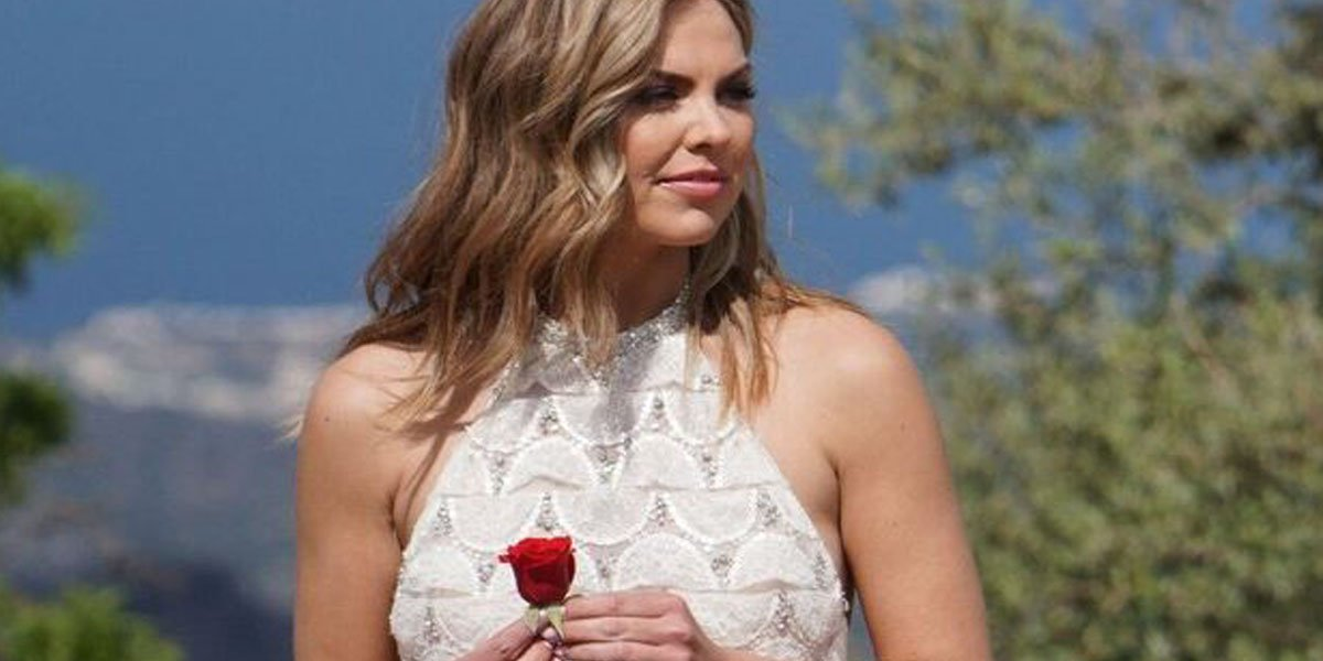 Hannah Brown holds final rose on The Bachelorette 2019 Season 15 finale ABC