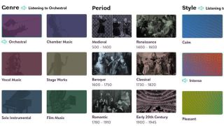 Classical music fans can now tune into a radio station based on their preferences