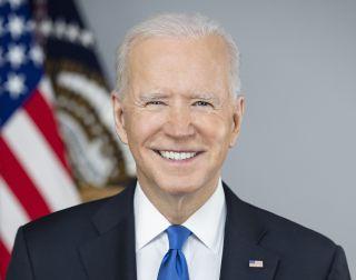 President Joe Biden official portrait