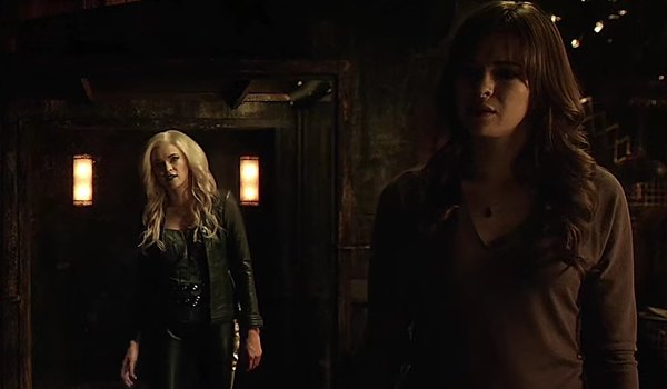 Killer Frost and Caitlin Snow