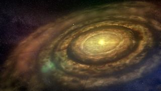 Artist's Conception of a Protoplanetary Disc 2