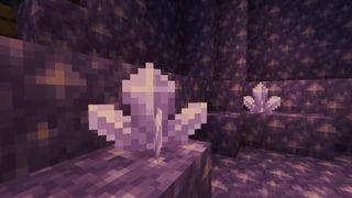 Minecraft Amethyst blocks