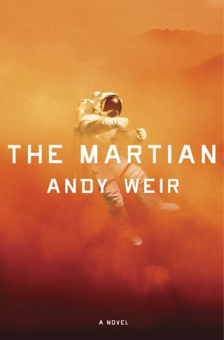 """The Martian"" book cover"