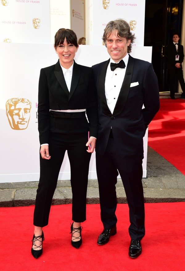 Davina McCall and John Bishop (Ian West/PA)