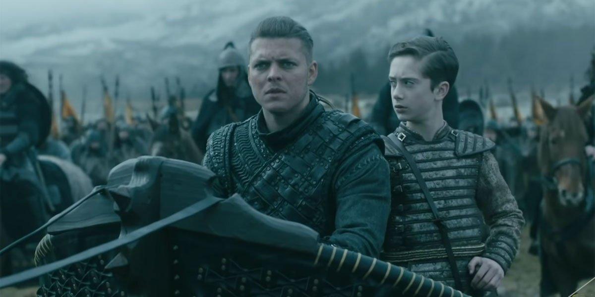 Ivar preparing for battle Vikings Season 6