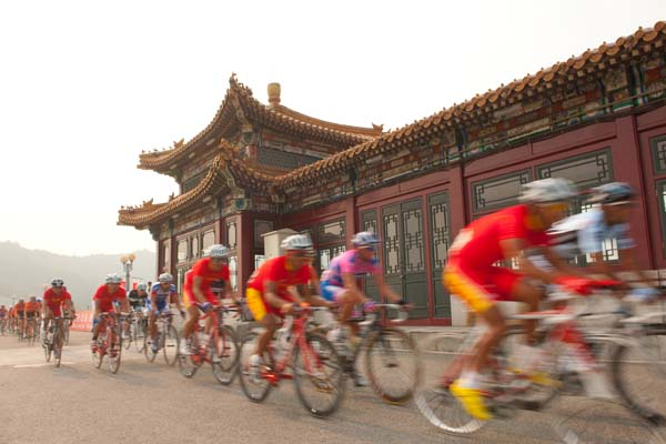 Scenery, Tour of Beijing 2011, stage three