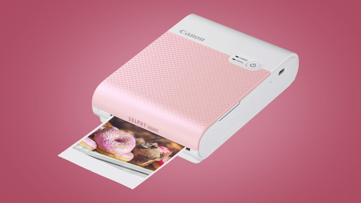 The Canon Selphy QX10 is a new take on the portable smartphone photo printer