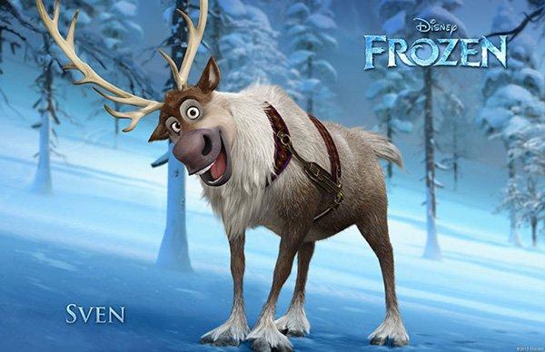 Frozen Character Poster Sven