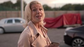 After Seth Rogen Mispronounced Ted Lasso Star Hannah Waddingham's Name At The Emmys, She Had An A+ Response
