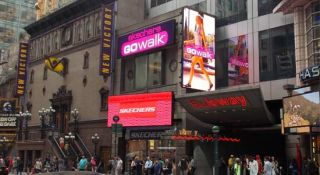 SKECHERS Enhances Times Square Store with LED Display System