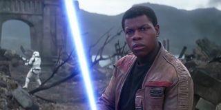 John Boyega finn the force awakens