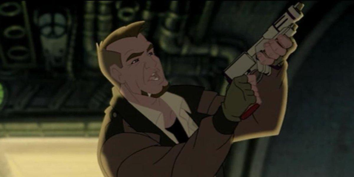 Bill Pullman as Korso in Titan A.E.