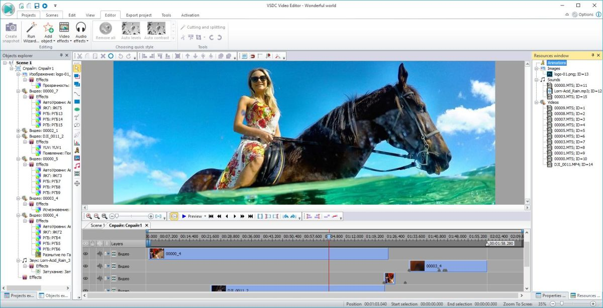 adobe software for video editing free download