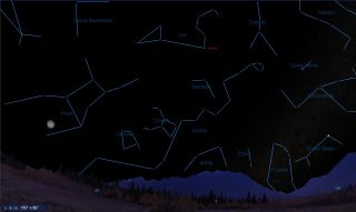 Leo can be found prowling the Spring night skies. This sky map shows Leo over New York at 11 p.m. EDT on March 22, 2019.