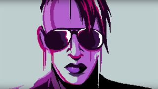 Marilyn Manson in 8-bit video